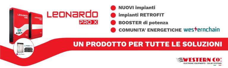 Banner leonardo pro x italia solare