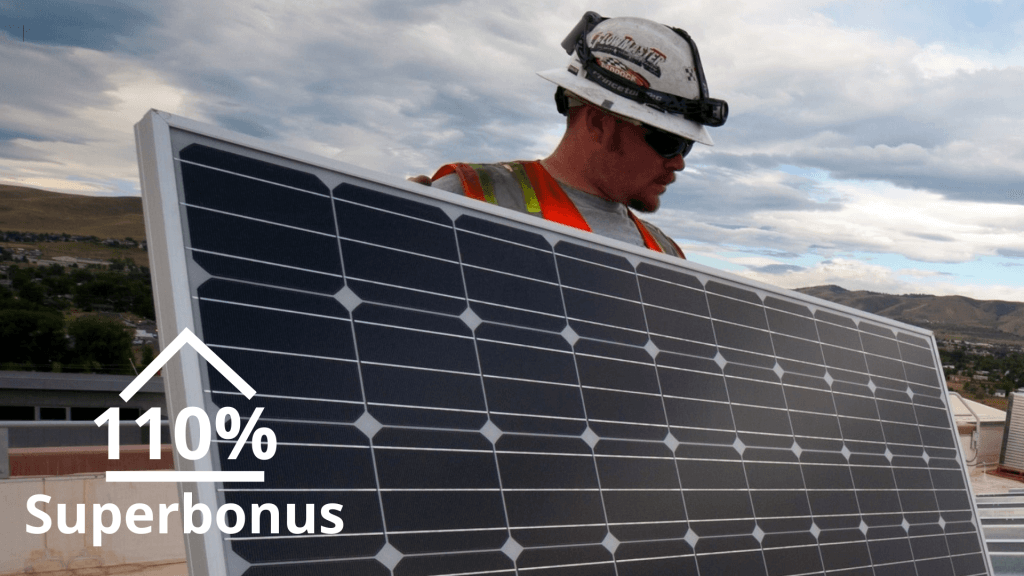 Superbonus 110 webinar italia solare