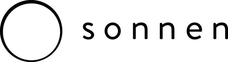 Sonnen logo wordmark hor